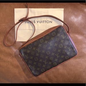 💜 LOUIS VUITTON Vintage 70's Sac Bandouliere 30
